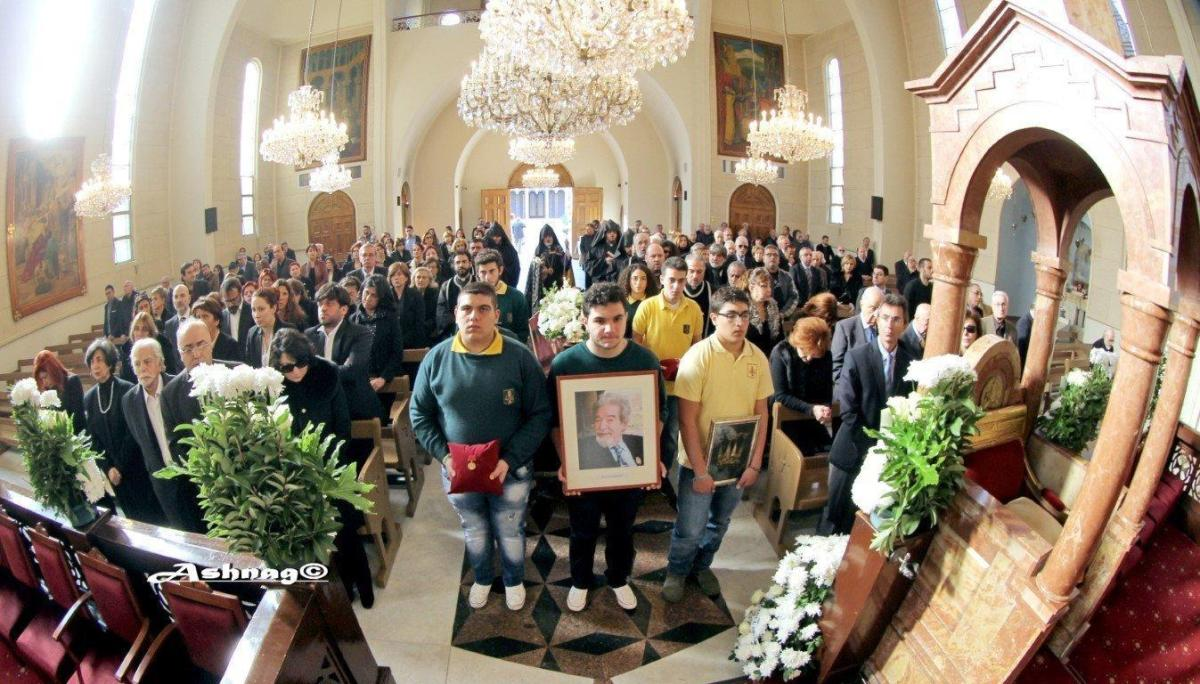 Outstanding Director Varoujan Khdeshian's Funeral