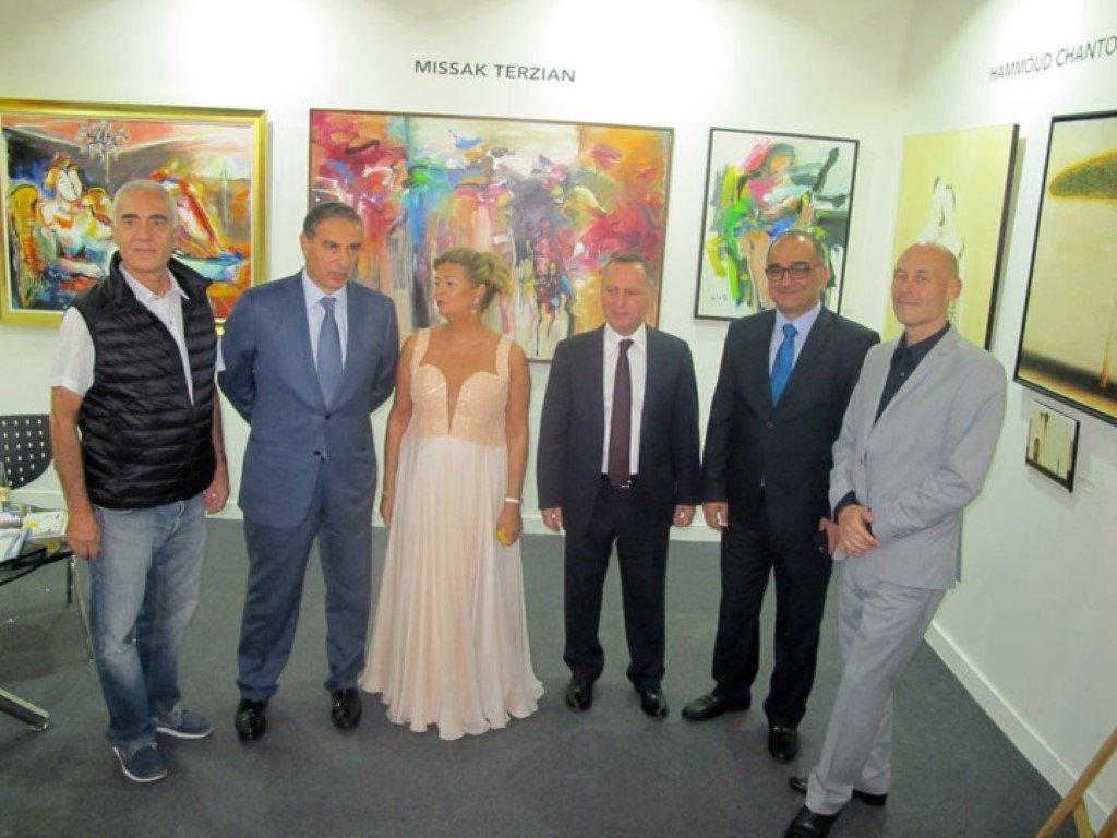 "The Hamazkayin ""Lucy Tutunjian"" Art Gallery Takes Part in ""Beirut Art Fair"" Exhibition (Lebanon)"