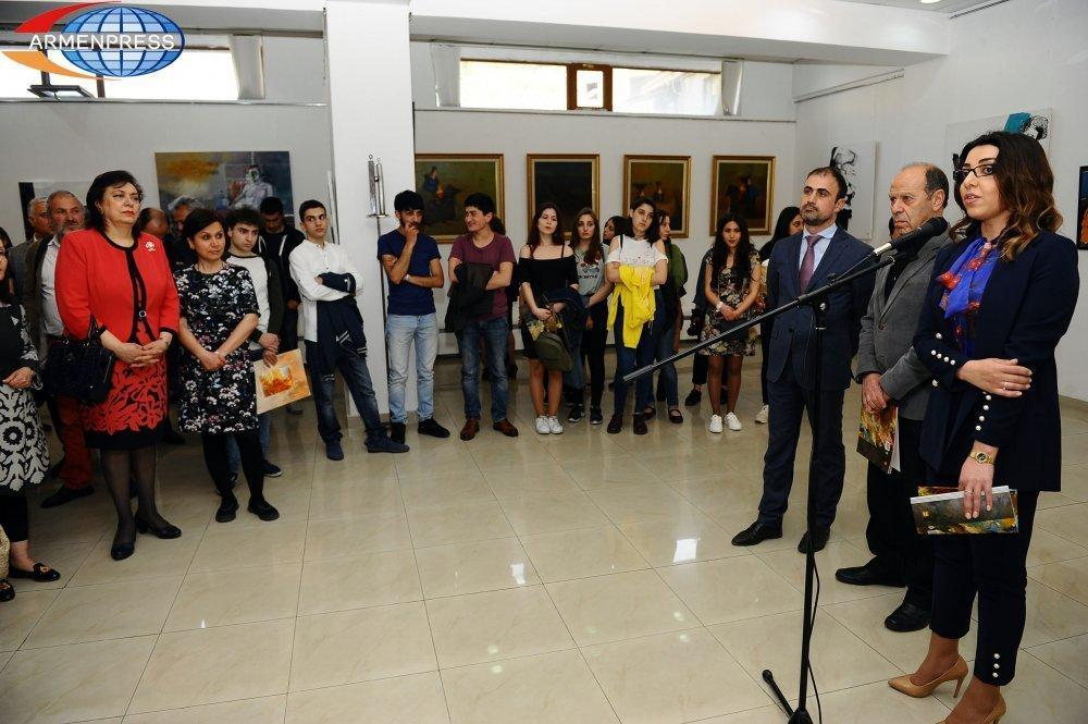 Armenia's Young Artists' Exhibition and Presentation of Album