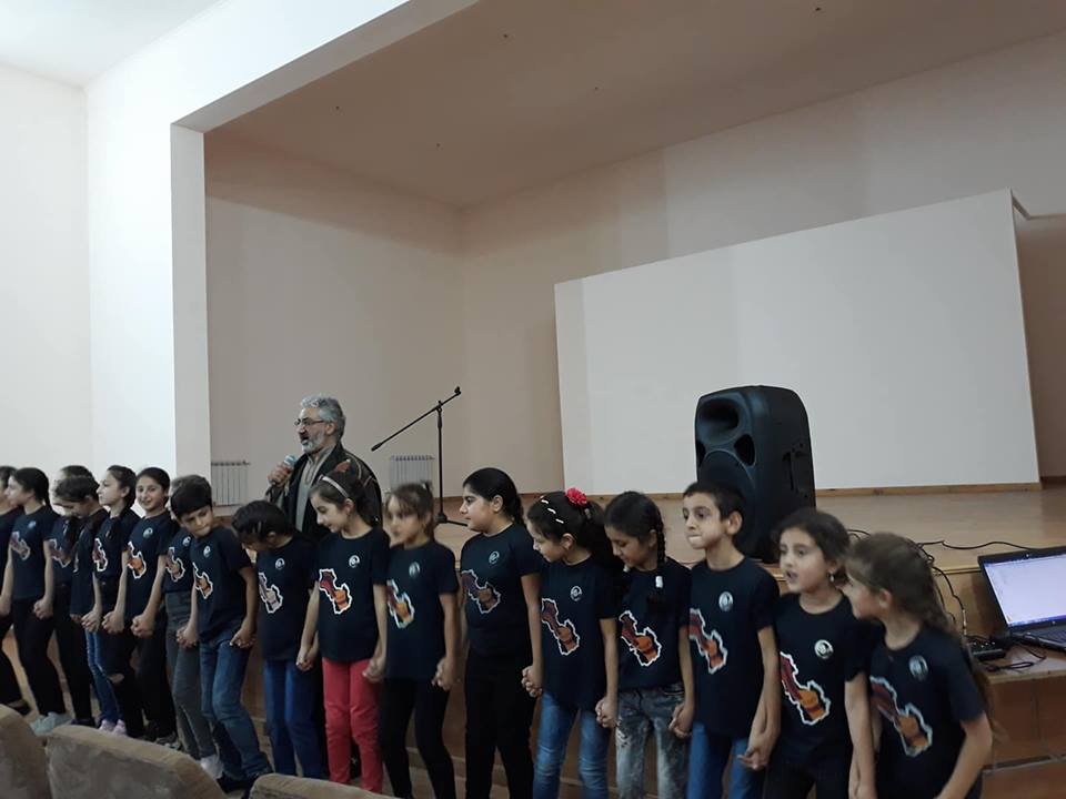 Kevork Hadjian Performs in Artsakh