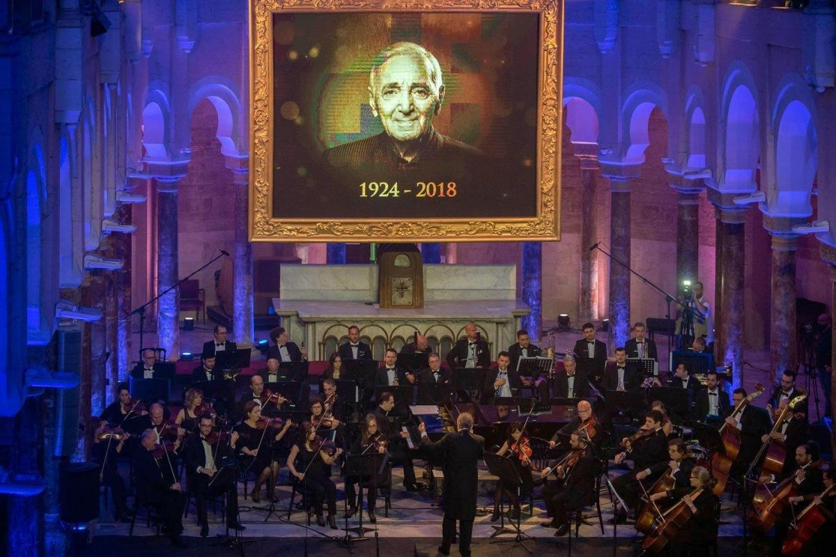 Concert in Lebanon Honors Memory of Charles Aznavour