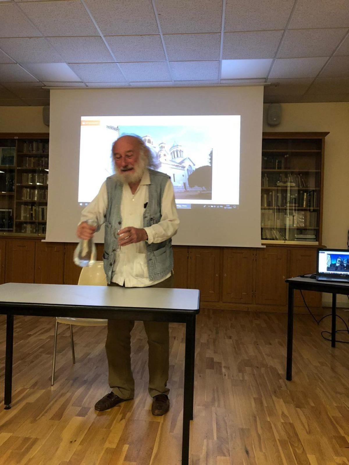 Historian Claude Mutafian speaks in Paris on Armenians in Carpathia