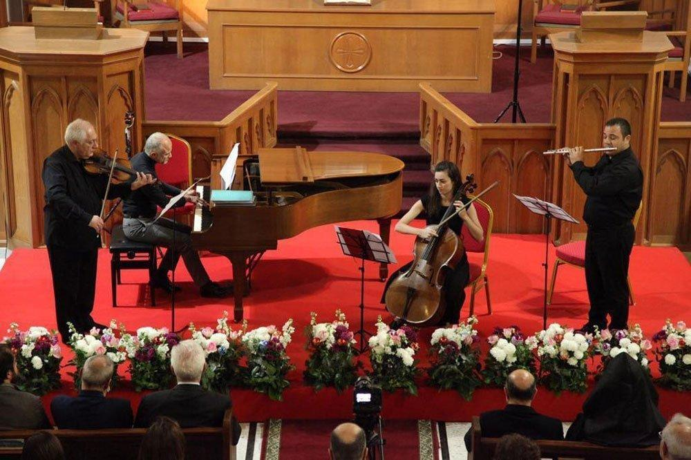 "Hamazkayin ""Parsegh Ganachian"" Conservatory Celebrates 35 Years with Instructors' Concert"