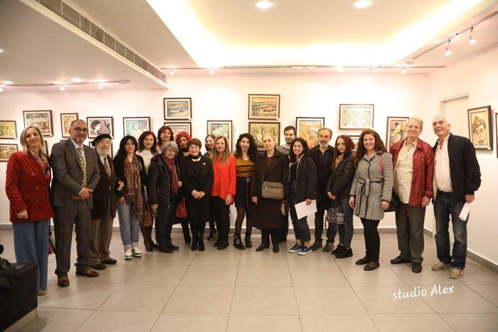 Lucy Tutunjian Exhibit Opens in Lebanon