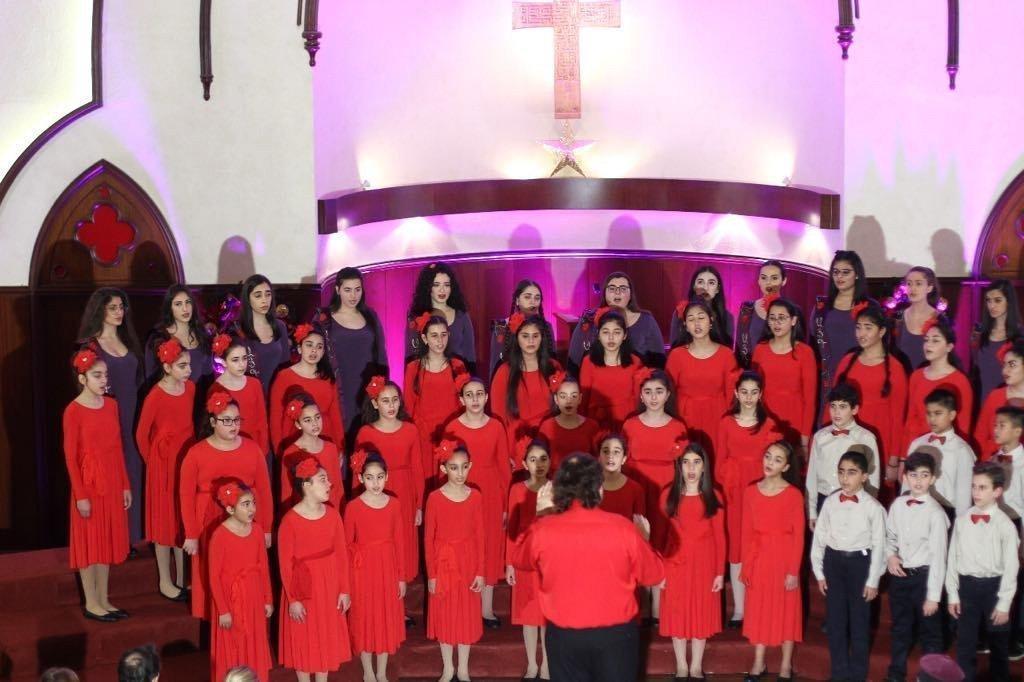 Hamazkayin Gargach Youth Choir Participates in Beirut Chants Festival
