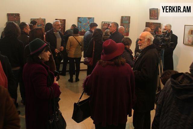 """Armen Vahramian's Paintings of """"Tumanian's World"""" on Exhibit in Yerevan"""
