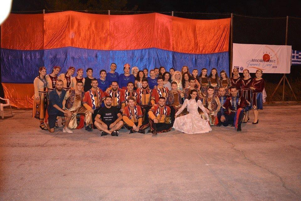 Master Class for Armenian Dance Groups Held in Halkidiki in Greece