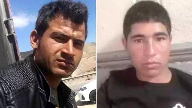 جلیل احمد ۱۶ ساله و عیدی محمد ۲۲ ساله