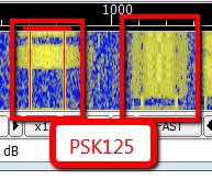 PSK125 QSOs