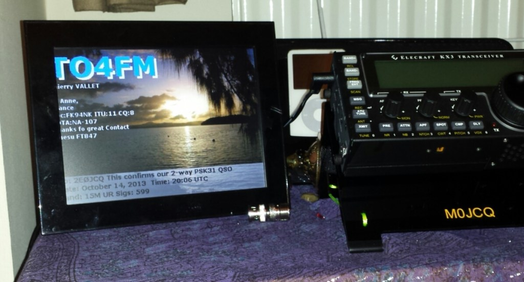 eQSL Digital Photo Frame