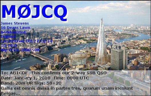 M0JCQ eQSL Card