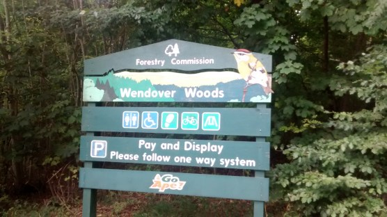 Wendover Woods Welcome Sign