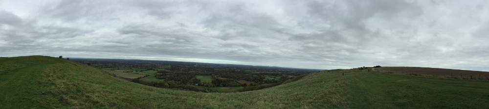 Panorama View from Ditchling Beacon