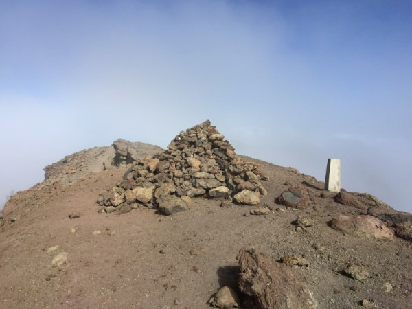 Deseadas Summit Cairn