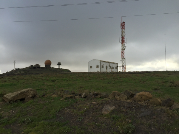 Military Base on Summit
