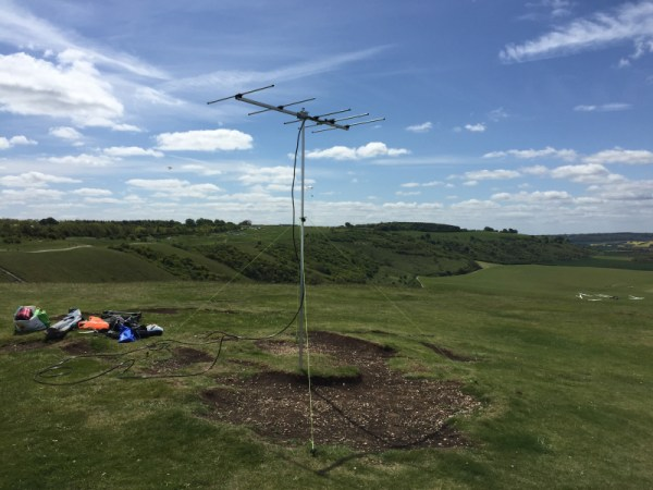 The 2m Yagi is up and staying put!