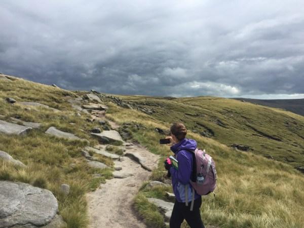YL Walking Along the Ridge