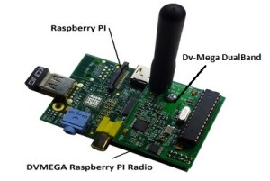 DVMega Raspberry Pi Add On Board