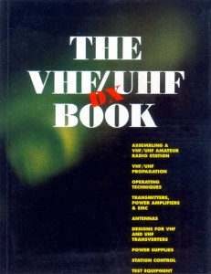 The VHF/UHF DX Book Front Cover
