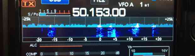 Antenna Comparison on 6m During a Sporadic-E Opening on the Icom 7300