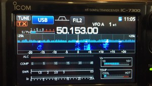 Icom 7300 on 6m during Sporadic-E Opening