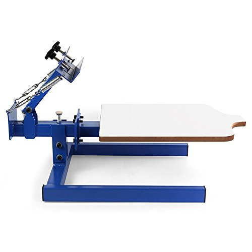 2f53b3f0 For those looking for a screen printing machine with a limited budget, I'd  recommend you to invest in this BestEquip Screen Printing Machine 1 Station  1 ...
