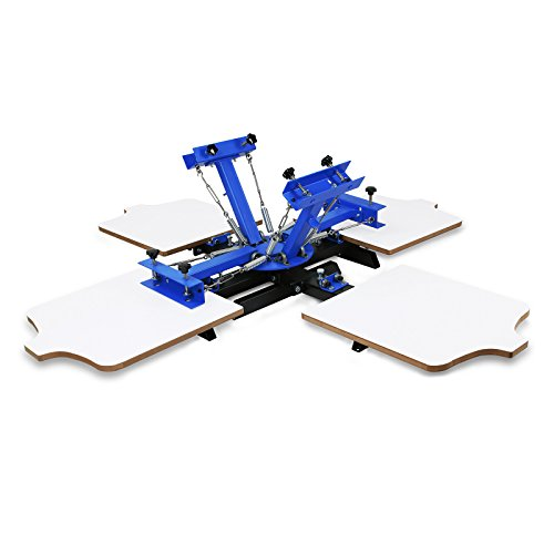 f429b5d2 At the top of our list, we have the Superland Screen Printing Machine 4  Color Silk Screen Printing Machine. Our research team picked this machine  because of ...