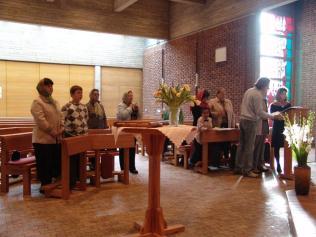 первая литургия в Люнебурге 2