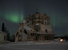 Успенский храм. Артемие-Веркольский монастырь. Фотография Сосниной
