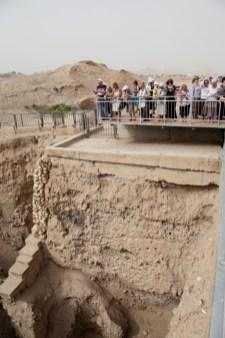 Древние стены Иерихона