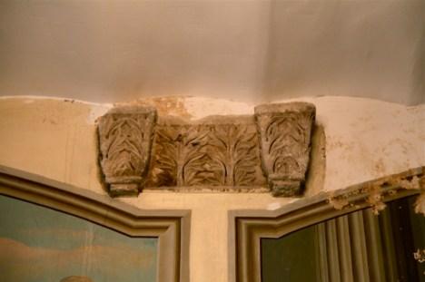 Остатки от колонны византийского храма VI в.