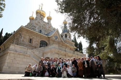 Храм Марии Магдалины в Гефсимании