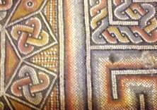 Мозаичные фрагменты пола храма Рождества Христова