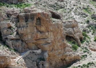 Пещера, в которой подвизался св. Савва