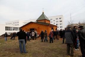 Освящение храма в Шверине
