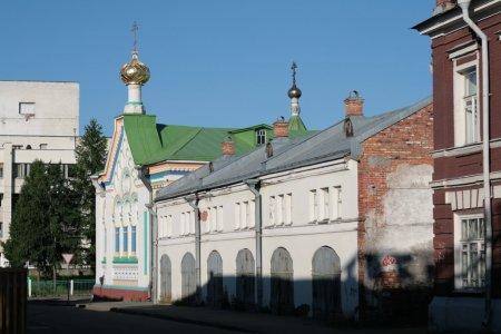 Свято-Никольский храм в Архангельске