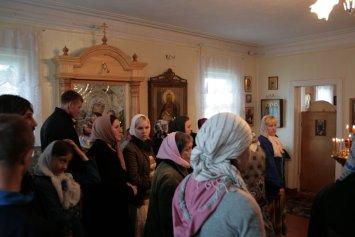 В храме св. прав. Иоанна Кронштадтского в Суре