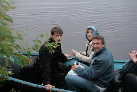 Переправа через Пинегу