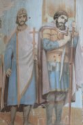 Фрески в Успенском храме.