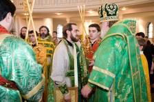 Священник Дионисий Идавайн награжден правом ношения набедренника.