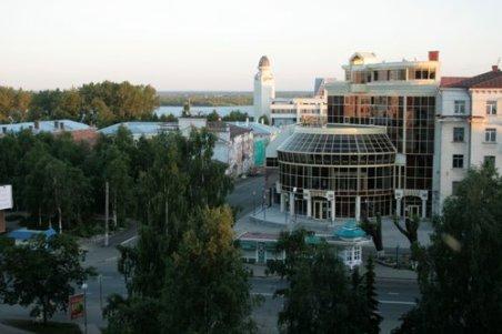 Архангельск вечером