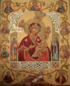 Хлебенная икона Божией Матери