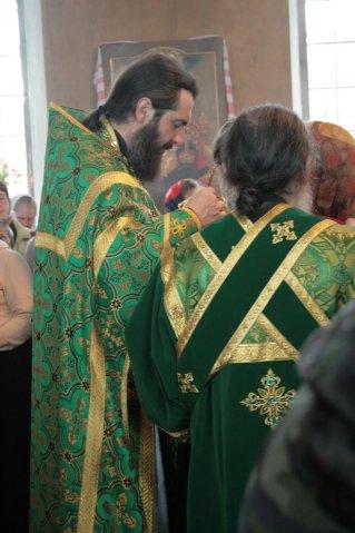 Литургия. Отец Феодосия
