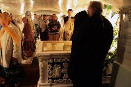 Гробница св. прав. Иоанна Кронштадтского