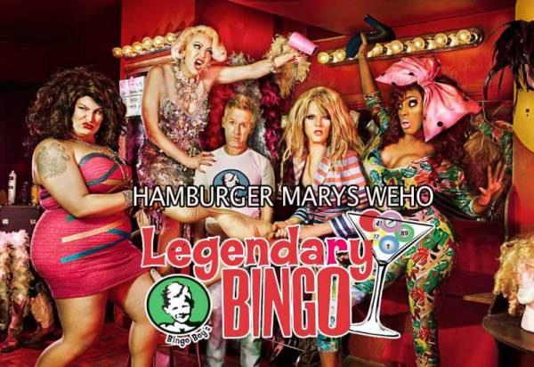 Hamburger Marys WeHo Eat Drink And Be MARY