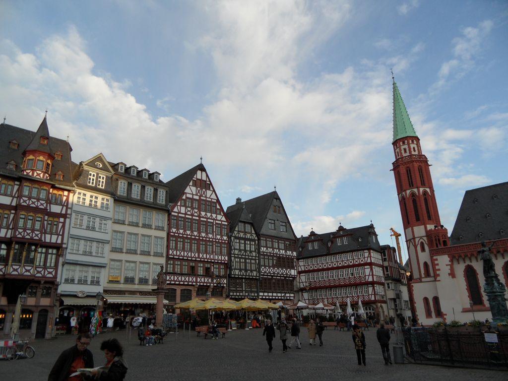 Ein paar Bilder von Frankfurt  Blogging