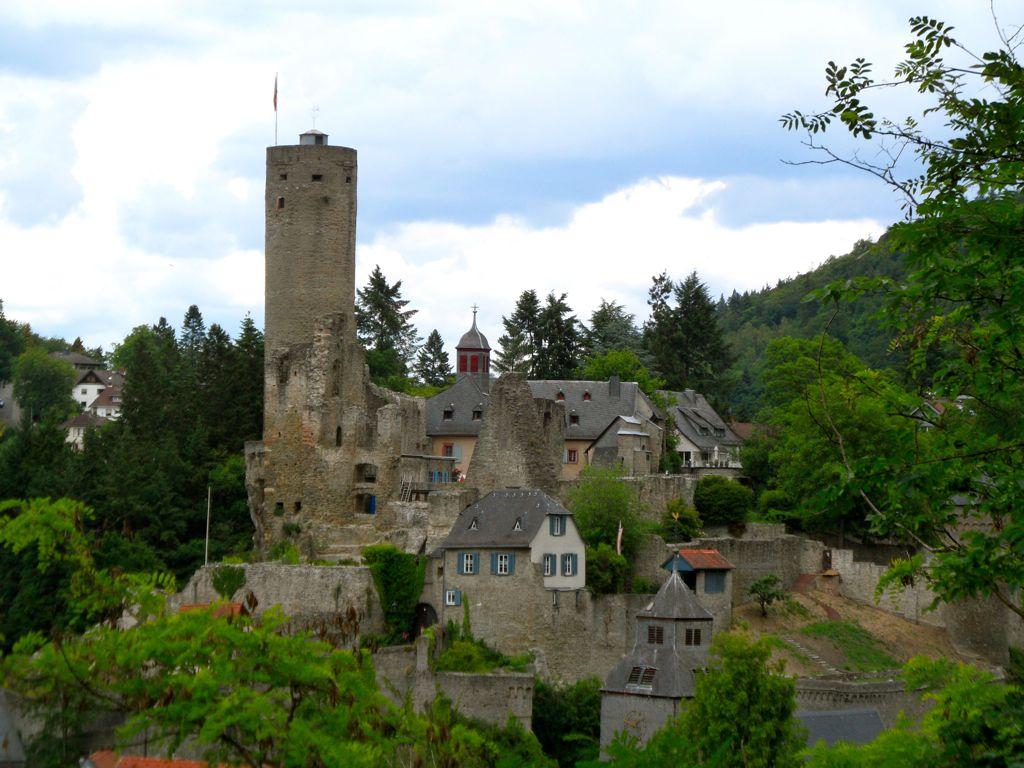 MTBTour  Staufen Kaisertempel Burg Eppstein  Blogging