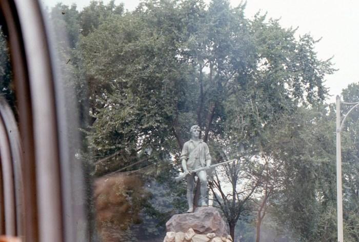 Vintage Pictures, Lexington Massachusetts Statues