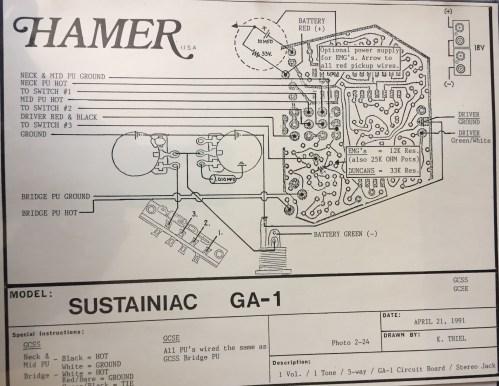 small resolution of hamer wiring diagrams wiring diagram post hamer bass wiring diagram hamer wiring diagram
