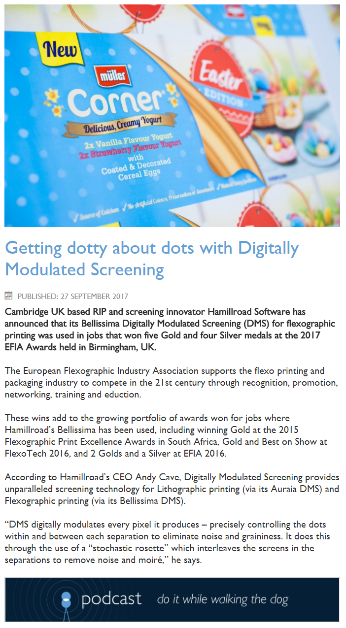 getting dots about dots digitally modulated screening flexo litho offset
